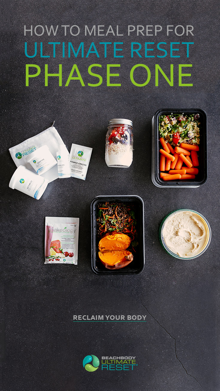 How to Meal Prep for Ultimate Reset (Phase One)   BeachbodyBlog.com