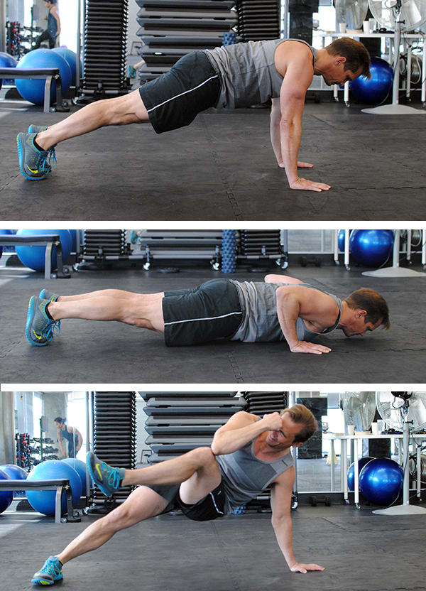 5 Genius Pushup Improvements Break Dancer Pushup | BeachbodyBlog.com