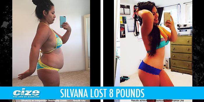 CIZE Results: Silvana Lost 8 Pounds!