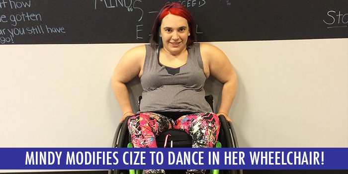 Fitspiration Friday: I Modified CIZE for My Wheelchair