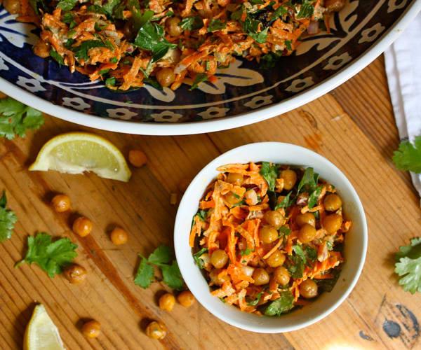 Carrot and Spiced Chickpea Salad | BeachbodyBlog.com