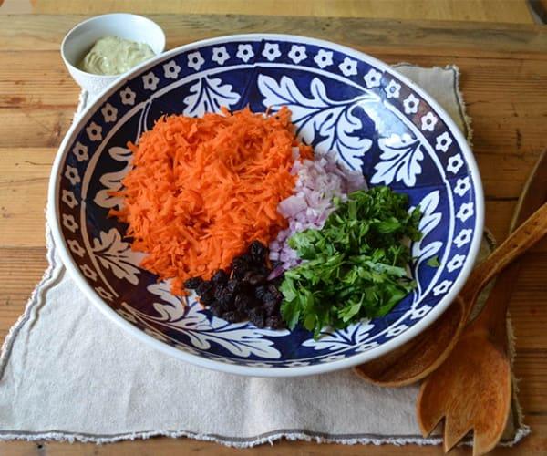 Carrot and Spiced Chickpea Salad |BeachbodyBlog.com