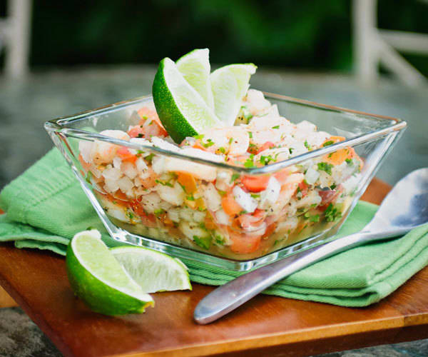 Game Day Recipes: Shrimp Ceviche with Lime | BeachbodyBlog.com