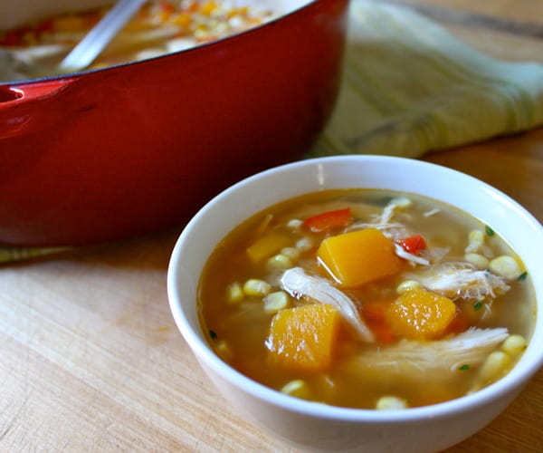 Chicken and Butternut Squash Soup