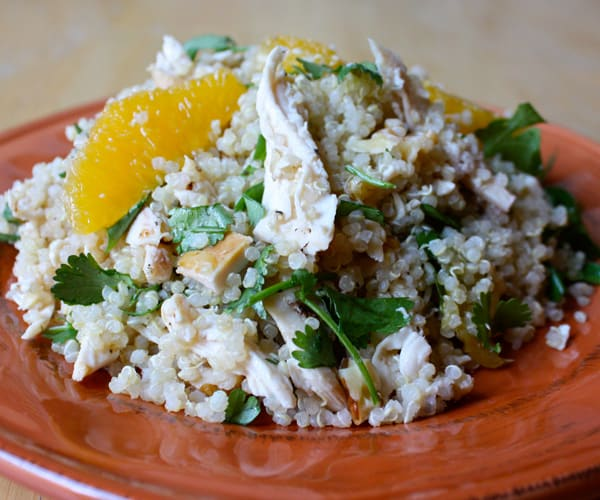 Chicken with Quinoa, Oranges, and Walnuts Recipe | BeachbodyBlog.com