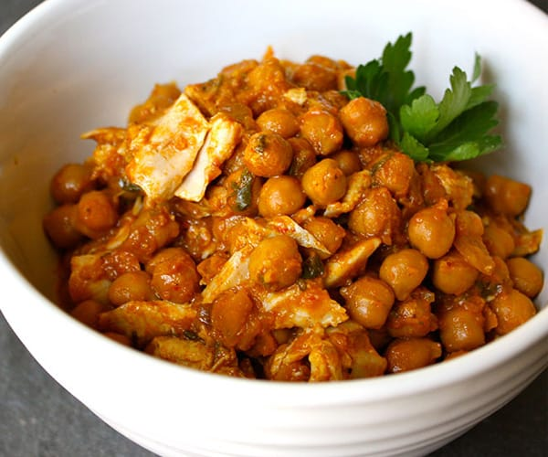 Chickpea Curry with Chicken Recipe | BeachbodyBlog.com