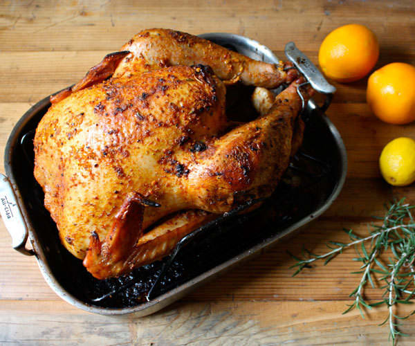 Citrus-herb roasted turkey recipe