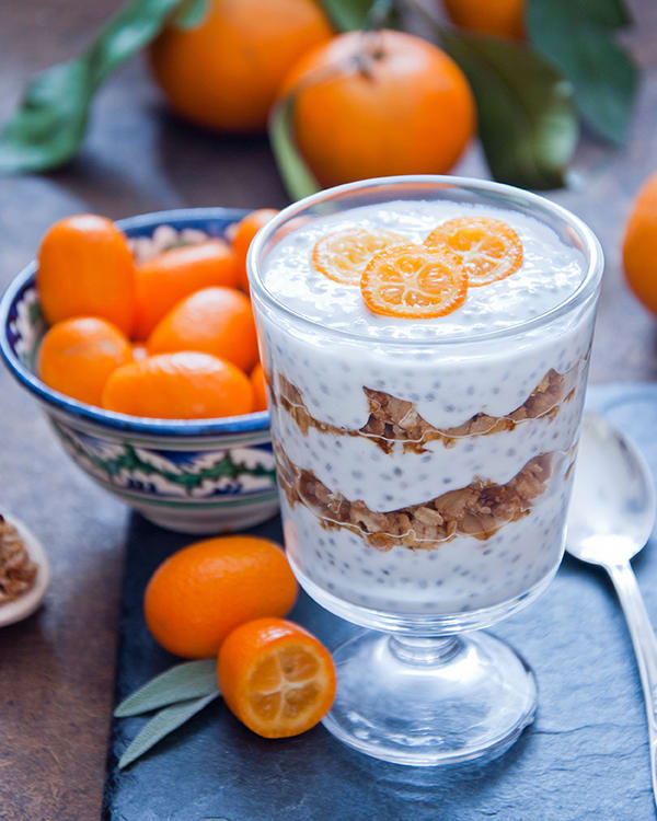 Citrus Chia Pudding Parfait | BeachbodyBlog.com
