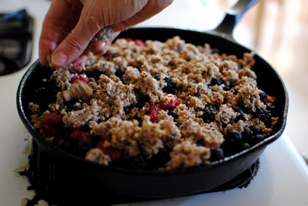 Mixed Berry Crumble 2 Recipe