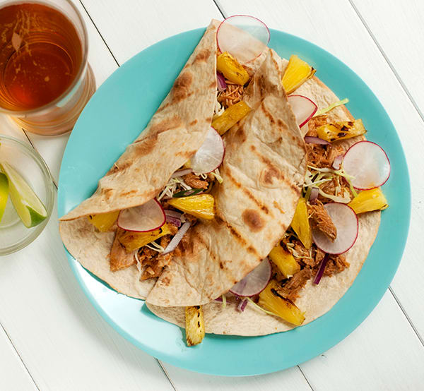 Easy Slow Cooker Recipes: Crunchy Spicy Shredded Pork Tacos