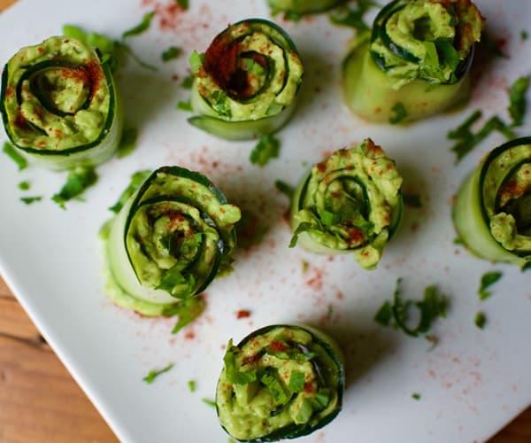 cucumber avocado roll