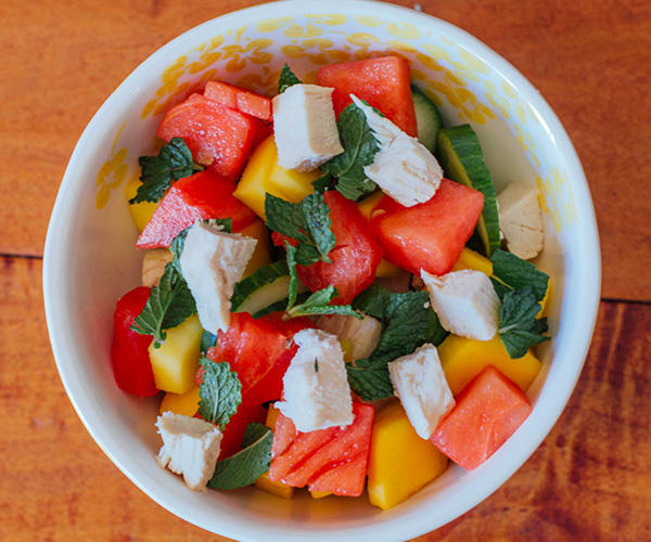 Cucumber Watermelon and Mango Salad | BeachbodyBlog.com