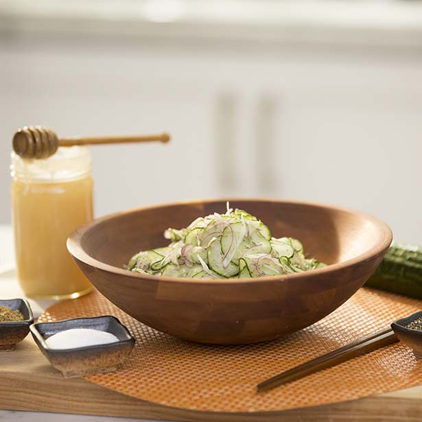 Healthy 4th of July Recipes: Dill Cucumber Salad