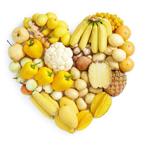 Eat the Rainbow Orange Pineapple Banana