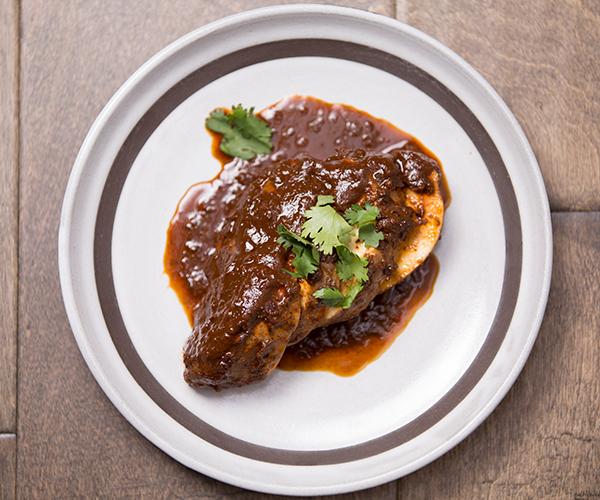Healthy Chicken Mole Recipe