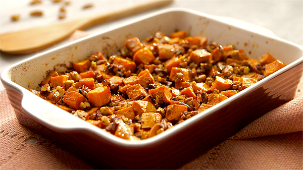 Sweet Potato Casserole from Fixate Cooking Show