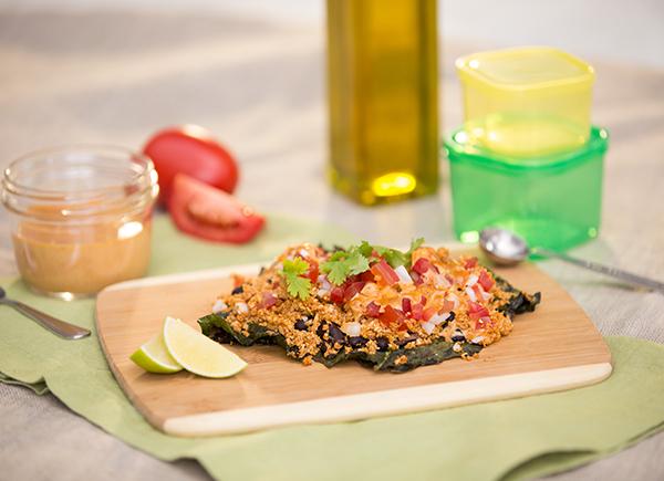 Vegan Kale Nachos Recipe