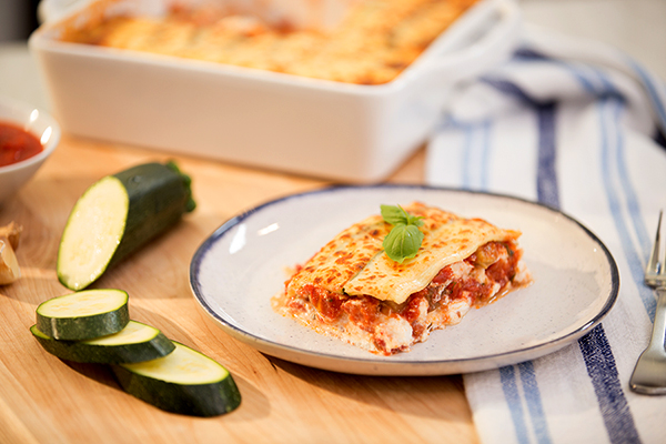 Zucchini Noodle Lasagna from Fixate Cooking Show