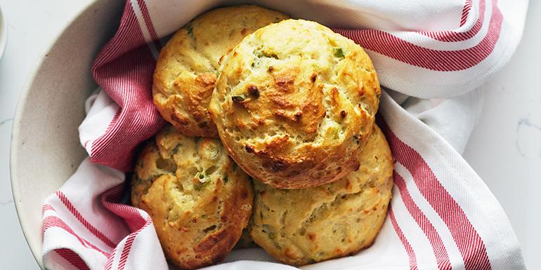 Four-Ingredient Drop Biscuits