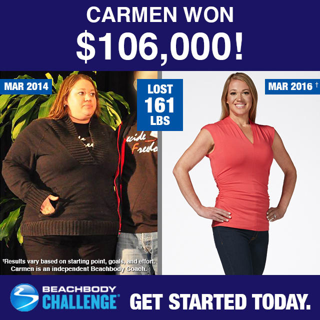 100 000 winners of the beachbody challenge 2015 2016 the