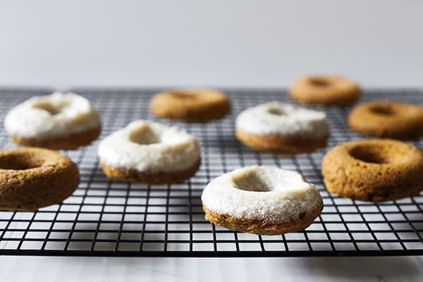 Gluten-Free Baked Pumpkin Donuts Recipe
