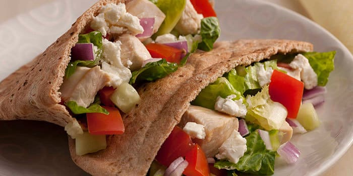 Greek Chicken Pita Recipe | BeachbodyBlog.com