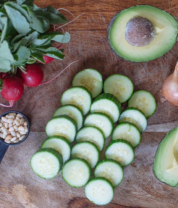 Green Gazpacho With Cucumber and Radishes | BeachbodyBlog.com