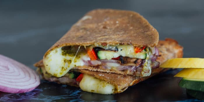 Grilled Veggie Quesadilla