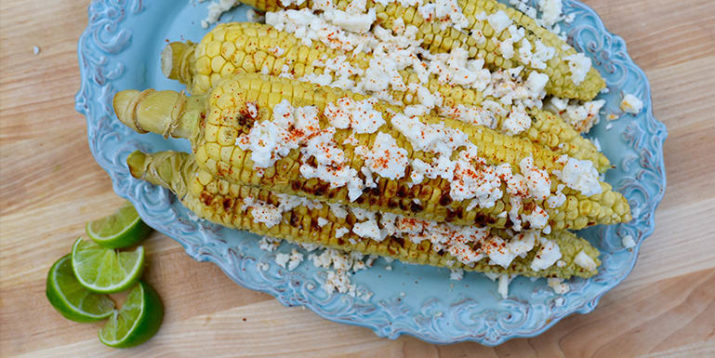 Grilled Corn with Chili, Cheese, and Lime Recipe | The ...