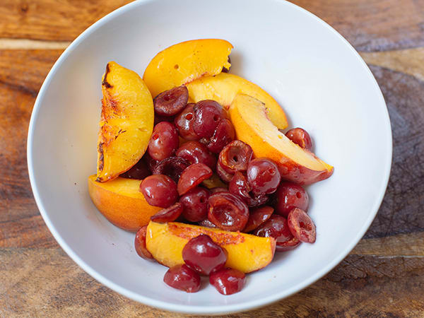Grilled Peaches and Cherries | BeachbodyBlog.com