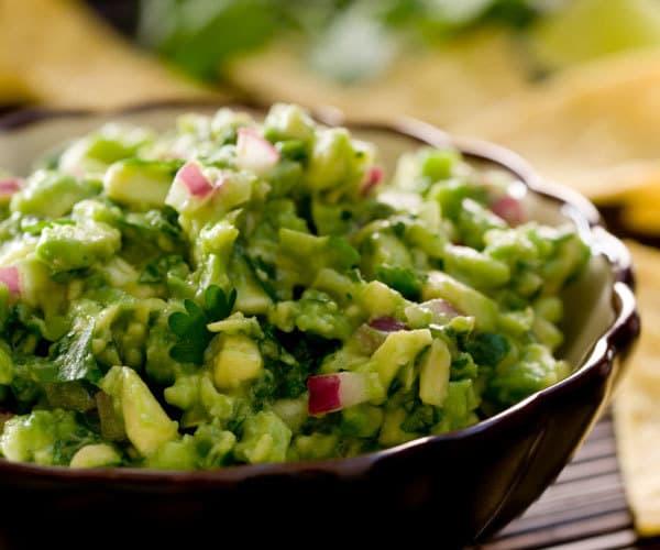 Homemade healthy guacamole recipe
