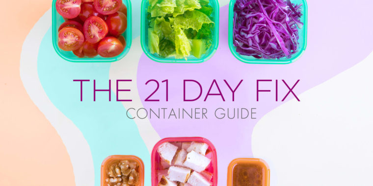 The Ultimate 21 Day Fix Container Guide