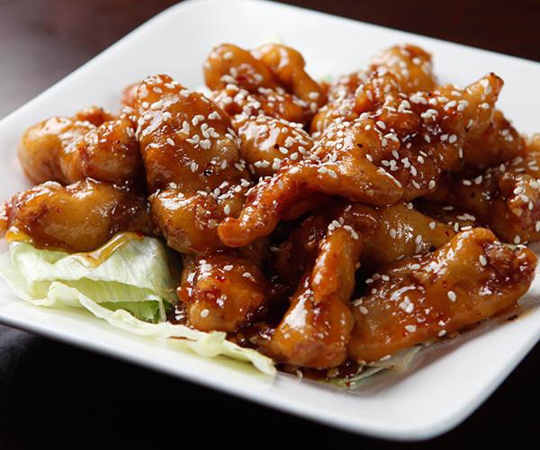 Healthier General Tso's Chicken