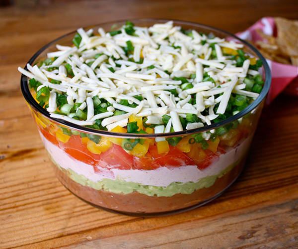 Healthier Seven-Layer Dip | BeachbodyBlog.com