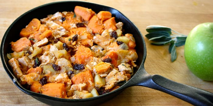 Hearty Chicken, Sweet Potato, and Apples