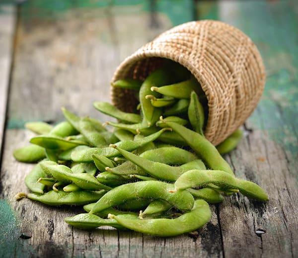 9 High-Protein Snacks - Edamame