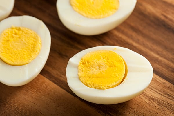 9 High-Protein Snacks - Hard-Boiled Eggs