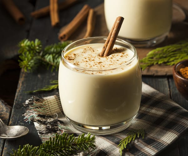 Egg Nog Using Heavy Cream: Healthy Holiday Drink Recipes