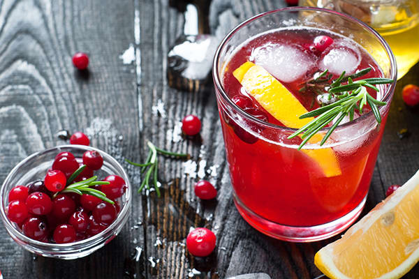 Cranberry Holiday Cocktail