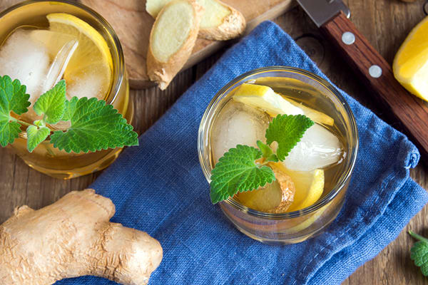 Honey ginger simple syrup