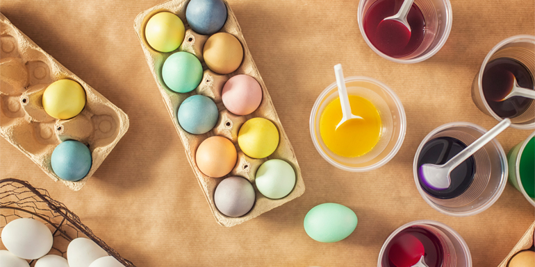 How to Make Homemade Easter Egg Dye
