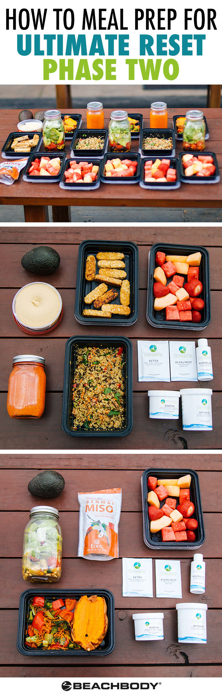 How to Meal Prep for Ultimate Reset (Phase Two)