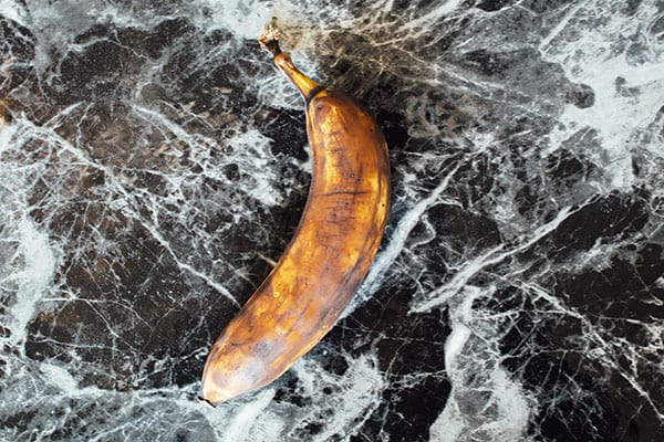 What to do with bananas that are brown