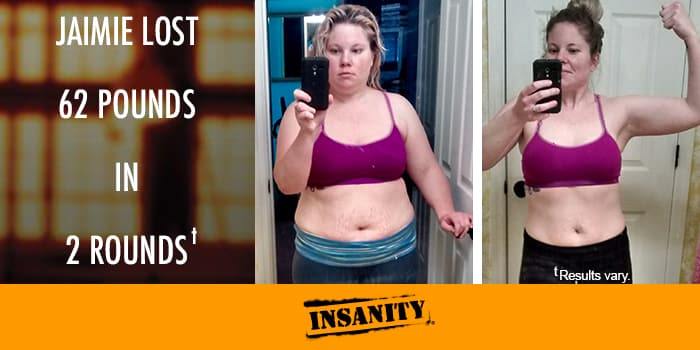 INSANITY Results: Jaimie Lost 62 Pounds - The Beachbody Blog