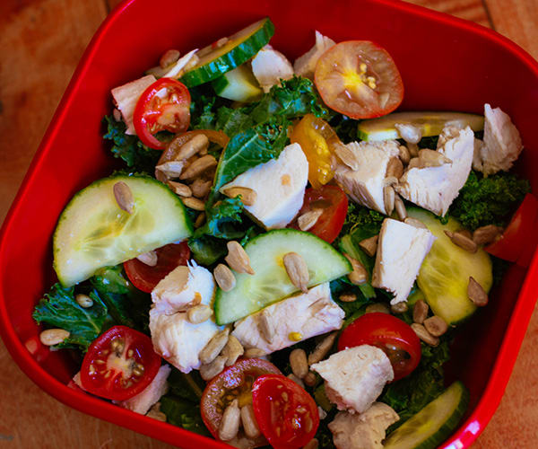 Kale Salad with Chicken | BeachbodyBlog.com