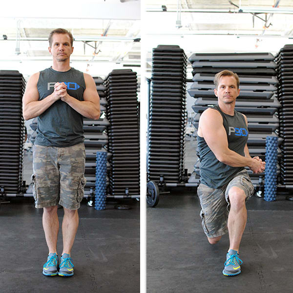 Kayak Back Lunge from P90 | BeachbodyBlog.com