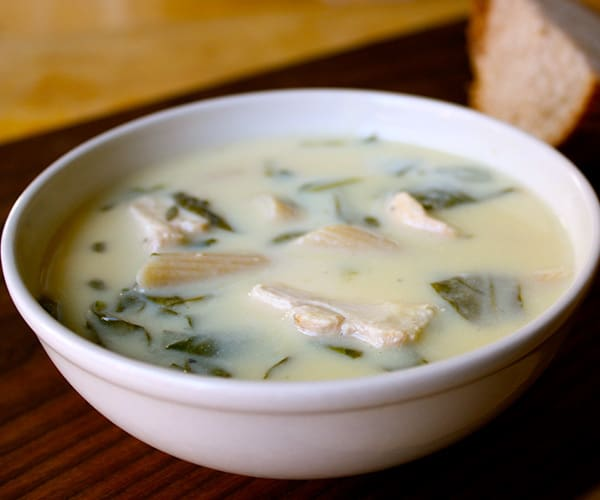 Lemon Chicken Soup Avoglemono