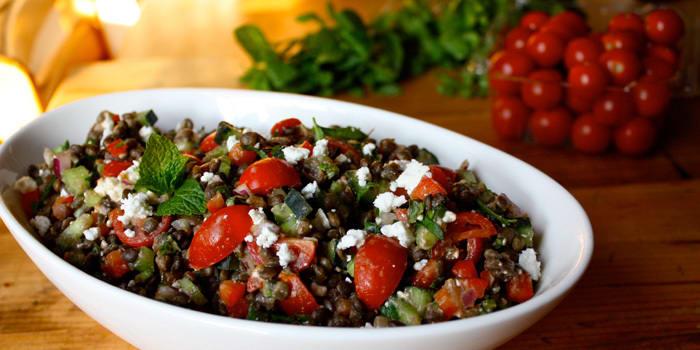 Lentil and Feta Salad
