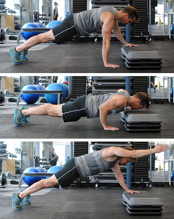 5 Genius Pushup Improvements Lockout Pushup | BeachbodyBlog.com
