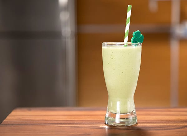 Lucky O'Shake St. Patrick's Day Smoothie